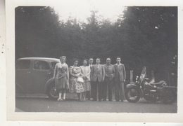 Old Timer - Moto - Animé - Photo Originale Format 6 X 9 Cm - Automobile