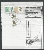 Ordre De Réexpedition: ( Arlon) - Postdokumente