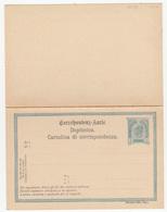Austria - Croatian Italian Postal Stationery Postal Card With Reply Unused B180725 - Interi Postali