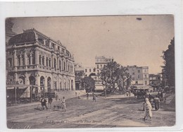 ALGER. LE THEATRE ET LA PLACE BRESSON. CIRCA 1906. CIRCULEE TO URUGUAY- BLEUP - Alger