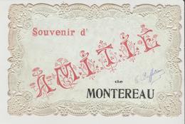 CPA - Souvenir D' AMITIE De MONTEREAU - Montereau