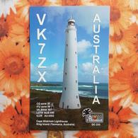 Tasmania, Cape Wickham Lighthouse  - King Island QSL - Lighthouses