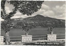 X3545 Castel Gandolfo Castelgandolfo (Roma) - Belvedere Sul Lago Di Albano - Panorama / Viaggiata 1955 - Italia