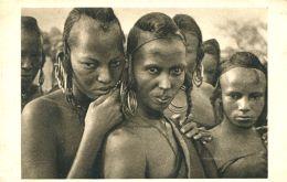 N°63986 -cpa Tchad -femmes Bororo De Léré- - Tchad