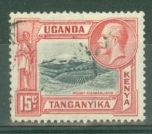 K.U.T.: 1935/37   KGV - Pictorial    SG113    15c      Used - Kenya, Uganda & Tanganyika