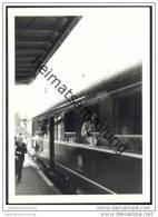 Am Bahnhof Eichenberg 1969 - Hessen - Foto 7,5cm X 10,5cm - Trains