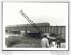 VT08 In Lauenburg/Elbe 1969 - Foto 7,5cm X 10,5cm - Trains