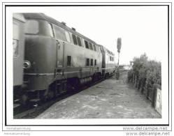 221 114-2 Lokomotive In Lauenburg/Elbe 1969 - Foto 7,5cm X 10,5cm - Treni