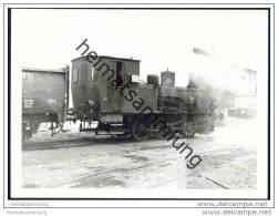 T3 Lokomotive - Zuckerfabrik Warburg 1969 - Foto 7,5cm X 10,5cm - Eisenbahnen