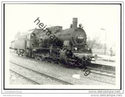 572559 Lokomotive Im Bahnhof Warburg 1969 - Foto 7,5cm X 10,5cm - Treni