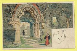 * Villers La Ville (Waals Brabant - Wallonie) * (Hotel Des Ruines) Abbaye, Abdij, Klooster, Porte Trilobée, Couleur TOP - Villers-la-Ville
