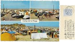 DE PANNE Beach Camp - La Panne Camp De La Plage - 1964 Timbre 50c - Edit Boonroy - Cpm - De Panne