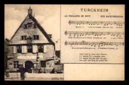68 - TURCKHEIM - CHANSON DU VEILLEUR DE NUIT - Turckheim