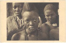 Cpa Afrique, Tchad – Jeune Fille Foulbé - Tchad