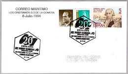 CORREO MARITIMO Los Cristianos - S.S.de La Gomera. FERRY GOMERA. 1994. Canarias - Correo Postal