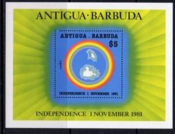 Antigua & Barbuda 1981 Independence MS, MNH, SG 722 - Antigua And Barbuda (1981-...)
