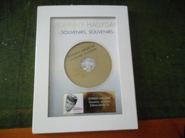 CD JOHNNY HALLYDAY SOUVENIRS SOUVENIRS EDITION LIMITÉE OR - Collectors