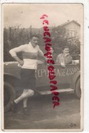 63- CLERMONT FERRAND- LEON GENDRE REPORTER PHOTOGRAPHE- PHOTO- 32 RUE BALAINVILLIERS-1909-1984-VOITURE REPORTAGE ESSOR - Photographs
