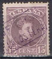 Sello 15 Cts Alfonso XIII, Carteria LLAGOSTERA (Gerona), Num 245 º - Usados