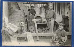 CPA Indochine Type Non Circulé Métier Forgeron - Cambodge