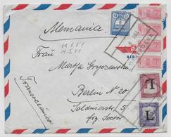 COLOMBIA - 1951 - ENVELOPPE Par AVION De CARTAGENA => BERLIN (ALLEMAGNE) - Colombie