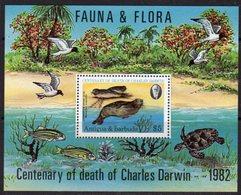 Antigua & Barbuda 1982 Charles Darwin Flora & Fauna MS, MNH, SG 747 - Antigua And Barbuda (1981-...)