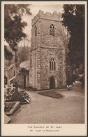 The Church Of St Just, St Just-in-Roseland, Cornwall, C.1920 - Postcard - England