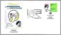 DIA INTERNACIONAL DE LA SORDOCEGUERA - HELLEN KELLER. SPD/FDC Madrid 2018 - Handicap