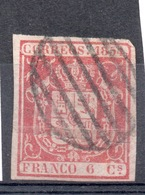 SPAGNA SPAIN 1854  6 C. Usato - 1850-68 Kingdom: Isabella II