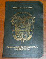 PANAMA MARITIME SEAMAN ID AS PASSPORT PASSEPORT PASS REISEPASS - Documentos Históricos