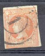 SPAGNA SPAIN 1860 4 Q. Usato - 1850-68 Kingdom: Isabella II