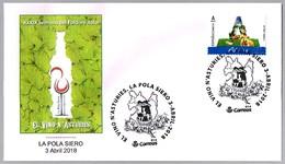 EL VINO EN ASTURIAS - WINE - Semana Del Folclore Astur. La Pola Siero, Asturias, 2018 - Vinos Y Alcoholes