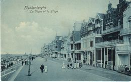 Blankenberge - CPA - Blankenberghe - La Digue Et La Plage - Blankenberge