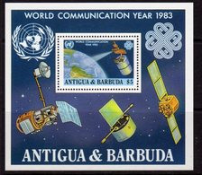 Antigua & Barbuda 1983 World Communications Year MS, MNH, SG 787 - Antigua And Barbuda (1981-...)