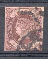 SPAGNA SPAIN 1862 4 Q. Usato - 1850-68 Kingdom: Isabella II