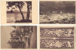 Cpa Asie, Laos – 4 CPA – Paksé, Luang Prabang, … - Laos