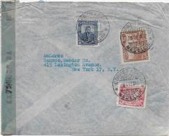 COLOMBIA - 1945 - ENVELOPPE Par AVION Avec CENSURE De MEDELLIN => NEW YORK (USA) - Colombie