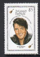 Antigua & Barbuda 1987 Entertainers Elvis Presley, MNH, SG 1127 - Antigua And Barbuda (1981-...)