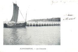 Blankenberge - CPA - Blankenberghe - Les Estacades - Blankenberge