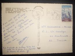 France , Carte De Morzine 1973 Pour Toulon - Francia
