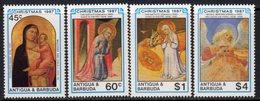 Antigua & Barbuda 1987 Christmas Set Of 4, MNH, SG 1144/7 - Antigua And Barbuda (1981-...)