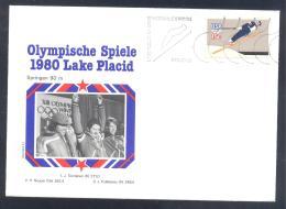 USA 1980 Cover: Olympic Games Jeux Olympique Lake Placid; Ski Jumping 90m; Törmanen, Neuper Puikkonen - Winter 1980: Lake Placid