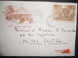 Polynesie Française Lettre De Fare 1993 Pour Gentilly - Polynésie Française