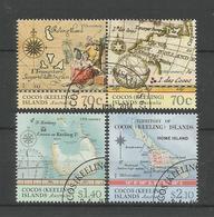 Cocos Keeling 2014 Island Maps Y.T. 483/486 (0) - Cocos (Keeling) Islands