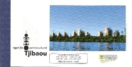 NEW CALEDONIA / NOUV CALEDONIE, 1998, Booklet / Carnet 12 , Centre Culturel Tjibaou, Prestige - Markenheftchen