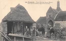 29-PENMARCH- FERME BRETONNE (ANCIEN MANOIR ) DIME AGRICOLE DU MOYEN-AGE DE PORTS-LAMBERT - Penmarch
