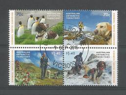Australia AAT 2015 Dogs That Saved Macquarie Island 4-block Y.T. 229/232 (0) - Australian Antarctic Territory (AAT)