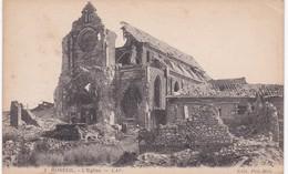 Somme - MOREUIL - L'Eglise - Guerre 1914-1918 - Moreuil