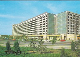 OUZBEKISTAN---capitale TASHKENT--dwelling Housses In Friendship Of The Peoples Square.--voir  2 Scans - Uzbekistan