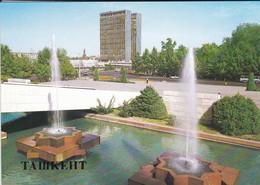OUZBEKISTAN---capitale TASHKENT--administrative Building In Lenin Square--voir  2 Scans - Ouzbékistan